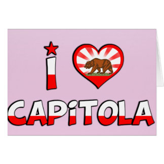 Capitola CA Greeting Cards