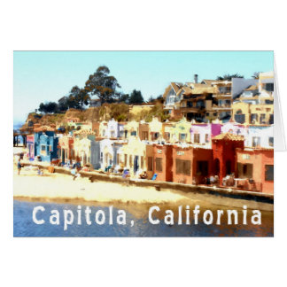 Capitola-California Card