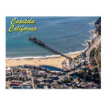 Capitola, California From Above Postcard