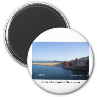 Capitola California Products 2 Inch Round Magnet
