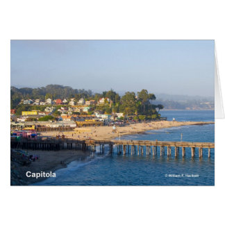 Capitola California Products Greeting Card
