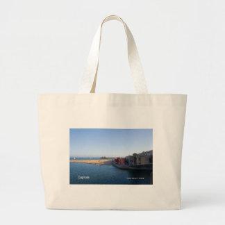 Capitola California Products Jumbo Tote Bag