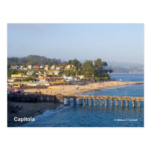 Capitola California Products Postcard