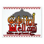 CapitolHell.com Invitación 10,8 X 13,9 Cm