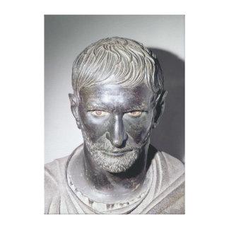 Capitoline Brutus 4th-3rd century BC Canvas Print