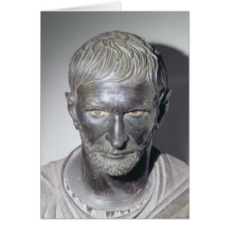 Capitoline Brutus, 4th-3rd century BC Greeting Card