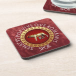 Capitoline Wolf Drink Coasters