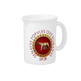 Capitoline Wolf Drink Pitcher