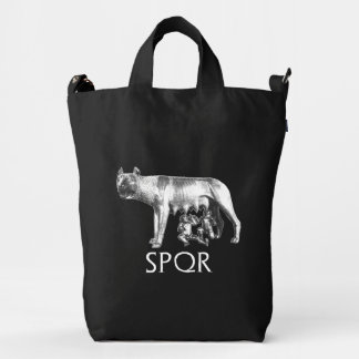 Capitoline Wolf Duck Bag