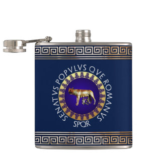 Capitoline Wolf Flask