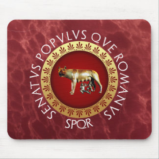 Capitoline Wolf Mouse Pad
