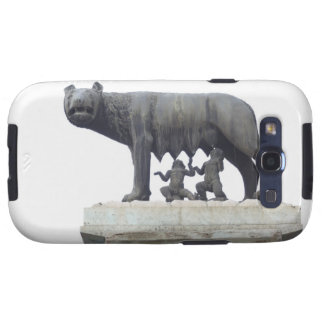 Capitoline Wolf Statue (She-wolf suckling), Samsung Galaxy SIII Cases