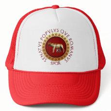 Capitoline Wolf Trucker Hat