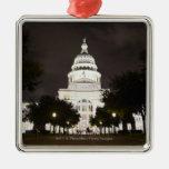 Capitolio de Austin, Tejas del estado en la noche Adorno