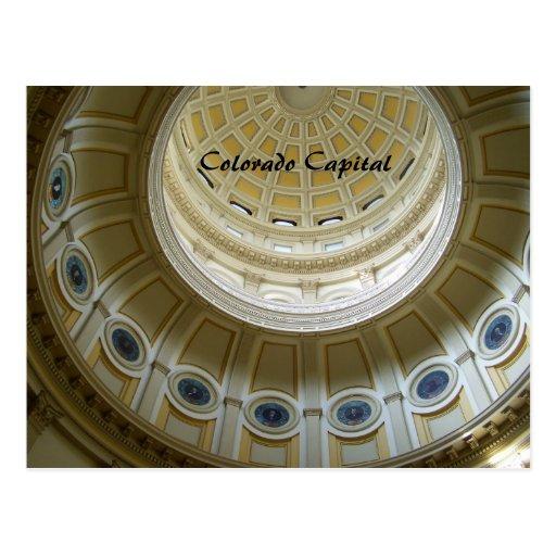 Capitolio de Colorado Tarjetas Postales