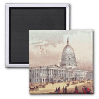 Capitolio de Estados Unidos, C.C. de Washington Imán Cuadrado