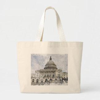 Capitolio de Estados Unidos del Washington DC Bolsas
