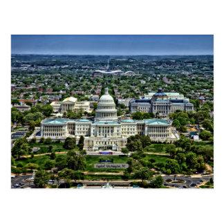 Capitolio de Estados Unidos Postales