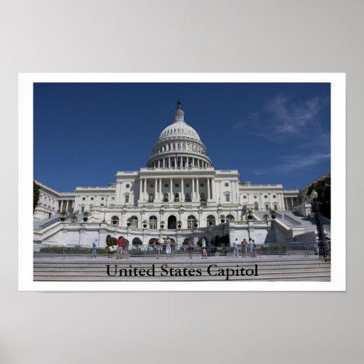 Capitolio de Estados Unidos Posters
