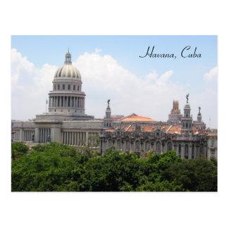 capitolio de La Habana Tarjeta Postal