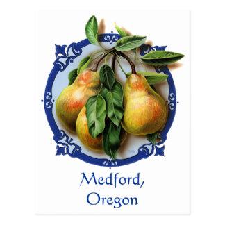 Capitolio de la pera del mundo Medford, recuerdo Tarjetas Postales