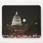 Capitolio de los E.E.U.U. que construye la Luna Ll Alfombrilla De Ratón
