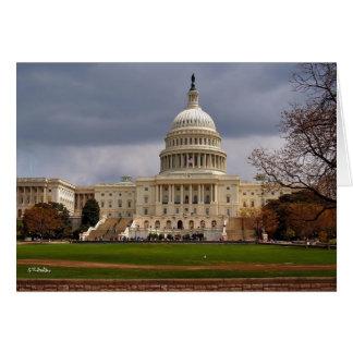 Capitolio de los E.E.U.U. Tarjeta De Felicitación
