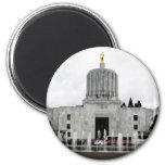 Capitolio de Oregon Imán Redondo 5 Cm