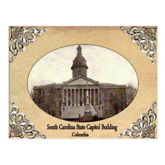 Capitolio del estado de Carolina del Sur que const Tarjeta Postal