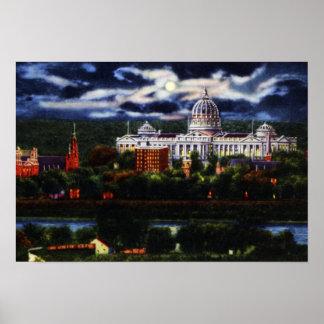 Capitolio del estado de Harrisburg Pennsylvania en Impresiones