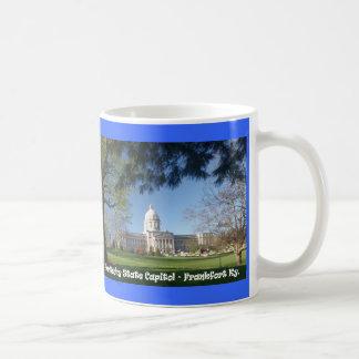 Capitolio del estado de KYCA101.Ky - Frankfort KY Taza