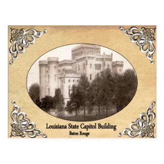 Capitolio del estado de Luisiana que construye la Postales