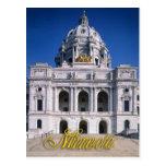 Capitolio del estado de Minnesota en Saint Paul Postal