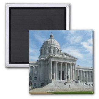 Capitolio del estado de Missouri Imán Cuadrado