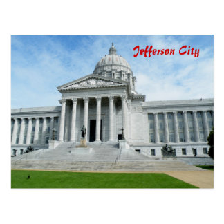Capitolio del estado de Missouri Postales