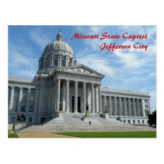 Capitolio del estado de Missouri Postal