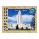Capitolio del estado de Nebraska, Lincoln, Nebrask Postal