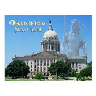 Capitolio del estado de Oklahoma, Oklahoma City Tarjeta Postal