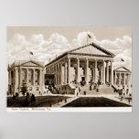 Capitolio del estado de Richmond Virginia Posters