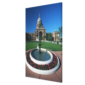 'Capitolio del estado de Tejas, Austin Impresión En Lienzo