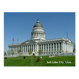Capitolio del estado de Utah Tarjeta Postal