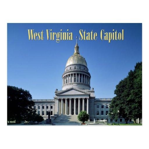 Capitolio del estado de Virginia Occidental Tarjeta Postal
