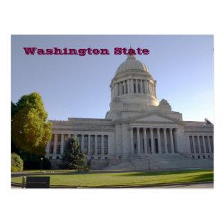 Capitolio del estado de Washington, estado de Tarjeta Postal