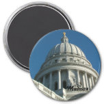 Capitolio del estado de Wisconsin Imán Para Frigorífico