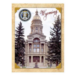 Capitolio del estado de Wyoming, Cheyenne, WY Postal