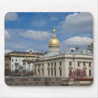 Capitolio del estado en Trenton, NJ Tapete De Raton