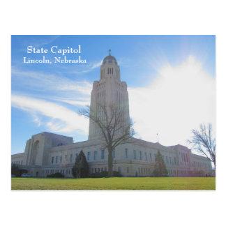 Capitolio del estado - Lincoln, postal #55n 055 de