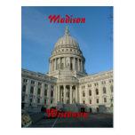 Capitolio del estado - Madison Tarjetas Postales