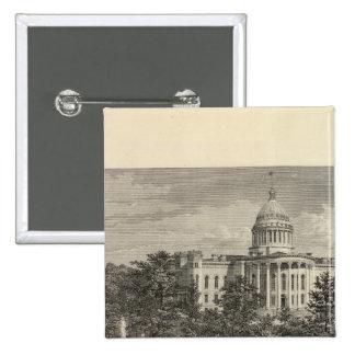 Capitolio del estado, Madison, WIS Pin