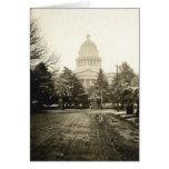 Capitolio del estado, Sacramento, CA, 1922 Tarjeta